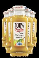Yoga 100% Frutta Pera Con Uva Confezione Da 12 Bottiglie + 6 Bicchieri Yoga
