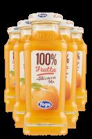 Yoga 100% Frutta Albicocca Mix Confezione Da 12 Bottiglie + 6 Bicchieri Yoga
