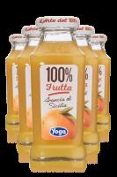 Yoga 100% Frutta Arancia Di Sicilia Confezione Da 12 Bottiglie + 6 Bicchieri Yoga