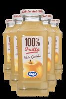 Yoga 100% Frutta Mela Golden Confezione Da 12 Bottiglie  6 Bicchieri Yoga