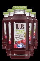 Yoga 100% Veggie Frutti Di Bosco Barbabietola Carota Nera Confezione Da 12 Bottiglie + 6 Bicchieri Yoga