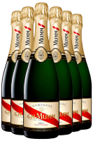6 Bottiglie Champagne Mumm Cuvée Privilège Brut 75cl (Non Astucciato)