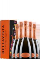 6 Bottiglie Franciacorta DOCG Alma Cuvée Brut Bellavista (Astucciato)