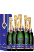 6 Bottiglie Champagne Pommery Brut Royal 75cl (Astucciato)