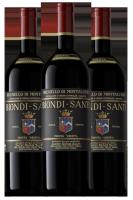 Verticale Brunello Di Montalcino DOCG Riserva Biondi Santi 1988-1997-2011