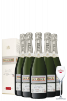 6 Bottiglie Piper-Heidsieck Essentiel Blanc De Blancs 75cl (Astucciato)