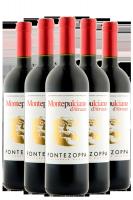 6 Bottiglie Montepulciano D'Abruzzo DOC 2015 Cantine Fontezoppa