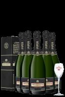 6 Bottiglie Piper-Heidsieck Vintage 2012 75cl (Astucciato)