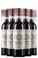 6 Bottiglie Barbera D'Alba DOC 2016 Della Marmora