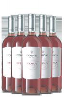 6 Bottiglie Corvo Rosa 2018 Duca Di Salaparuta