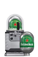 Spillatore Heineken + Fusto 8 LT + 18 Bicchieri