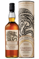 Cardhu Gold Reserve 'Game Of Thrones House Targaryen' 70cl (Astucciato)