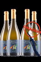 6 Bottiglie Trentino DOC Gewurztraminer 2017 Selezione Adel + 6 OMAGGIO