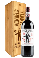Chianti Classico DOCG Monsieur Candela 2017 Castello Di Querceto (Magnum Cassetta in Legno)