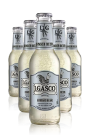 J.Gasco Ginger Beer Cassa Da 24 bottiglie x 20cl