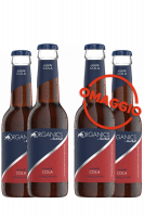 1 Cassa Red Bull Organics Simply Cola 24 Bottiglie x 25cl + 1 CASSA OMAGGIO (Scad. Luglio 2020)