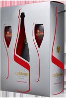 Champagne Mumm Cordon Rouge Brut + 2 Bicchieri