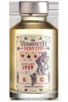 Mignon Vermouth Bianco Servito Silvio Carta 10cl