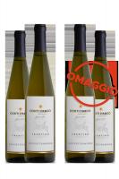 6 Bottiglie Trentino DOC Gewürztraminer 2018 Conti D'Arco + 6 OMAGGIO