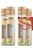 6 Bottiglie Terre Siciliane Bouquet 2018 Tenuta Rapitalà + 6 OMAGGIO
