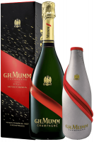 Champagne Grand Cordon Brut Mumm 75cl (Astucciato) + Cappotto Refrigerante
