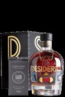 Ron Desiderio XO 70cl (Cassetta in Legno) + 1 Conf. Fave di Cacao + 4 Bicchieri + 4 Sottobicchieri