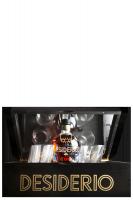 Ron Desiderio XO 70cl (Confezione Deluxe in Legno) Con 4 Bicchieri