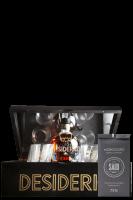 Ron Desiderio XO 70cl (Confezione Deluxe in Legno) Con 4 Bicchieri + 1 Conf. Fave di Cacao + 4 Sottobicchieri