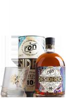Ron Desiderio 10 Anni 70cl (Astucciato) + 2 Bicchieri