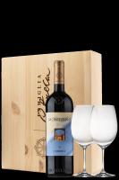Cofanetto Montiano 2016 Cotarella + 2 Bicchieri