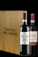 1 Rosso Di Montepulciano DOC 2018 + 1 Nobile Di Montepulciano DOCG 2016 Tenute Del Cerro (In Cassetta)