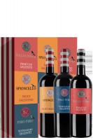1 bott. Piro Piro 2019 + 1 bott. Balia Nera 2019 + 1 Spioncello 2017 Masseria Spaccafico (In Astuccio)