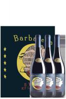 3 bottiglie Syrah Barbarella 2017 Du'Casette (In Astuccio)