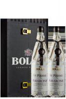 2 Bottiglie Amarone Della Valpolicella Classico DOCG 2014 Bolla (Cassetta in Legno)