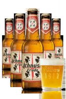 2 Casse di Ichnusa Cruda da 24 bottiglie x 33cl + OMAGGIO 6 bicchieri 20cl