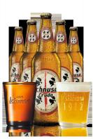 Ichnusa Cruda Cassa da 15 bottiglie x 66cl + 6 bicchieri 20cl OMAGGIO