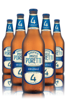 Poretti 4 Luppoli Originale Cassa da 15 bottiglie x 66cl
