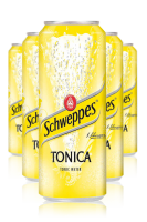 Schweppes Tonica Cassa da 24 Lattine x 33cl