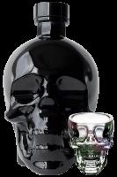 Vodka Crystal Head Onyx 70cl + 4 bicchierini