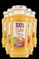 Yoga 100% Frutta Pesca Con Uva Confezione Da 12 Bottiglie