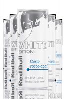 Red Bull Energy Drink White Edition Gusto Cocco-Açai Cassa da 12 Lattine x 25cl