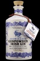 Gunpowder Irish Gin Ceramic Bottle 70cl