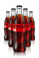 Coca-Cola Zero Vetro Cassa da 24 bottiglie x 33cl