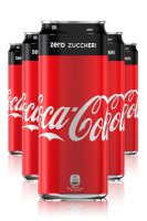 Coca-Cola Zero Cassa da 24 Lattine x 25cl