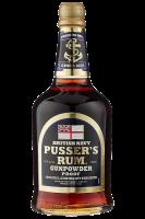 Rum British Navy Gunpowder Proof Pusser's 70cl