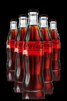 Coca-Cola Zero Vetro 33cl: Confezione con 24 Bottiglie