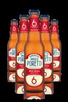 Poretti 6 Luppoli Bock Rossa Cassa da 24 bottiglie x 33cl