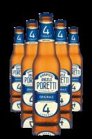 Poretti 4 Luppoli Originale Cassa da 24 bottiglie x 33cl