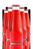 Sanbittèr Rosso 10cl Confezione Da 48 Bottiglie + 6 Bicchieri Sanset in plastica premium
