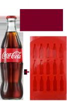 Coca-Cola Vetro 33cl: Confezione con 24 Bottiglie + Formina per Ghiaccio